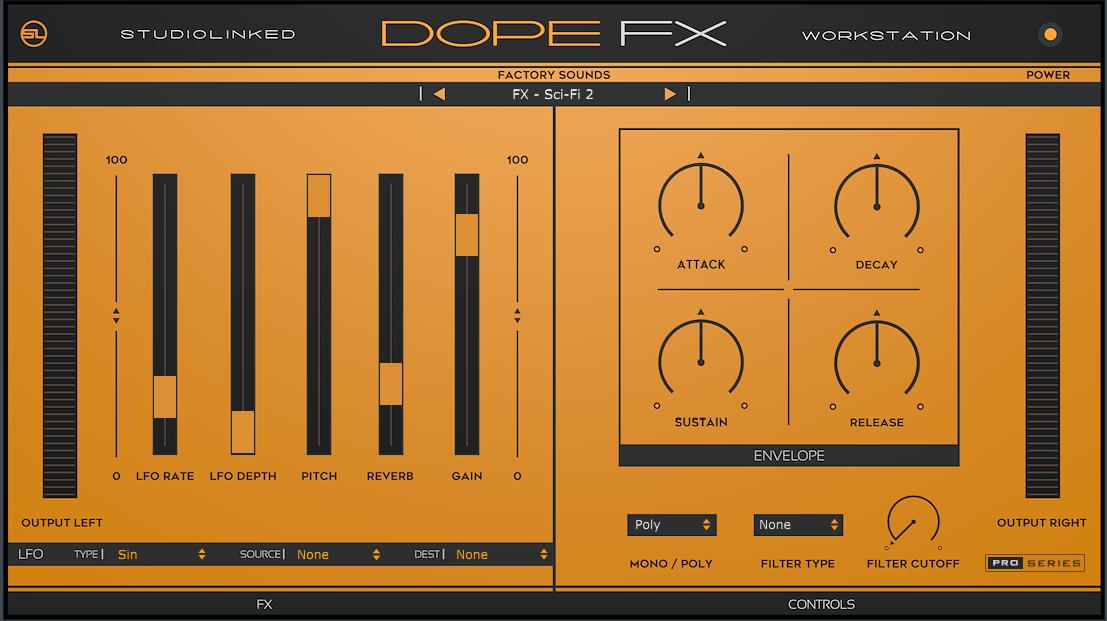 StudioLinked Dope FX v1.0 Mac 破解版 AU/VST插件